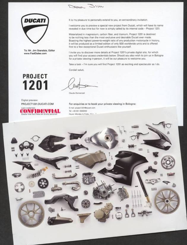 Komponen Ducati Panigale 1199 R Superleggera
